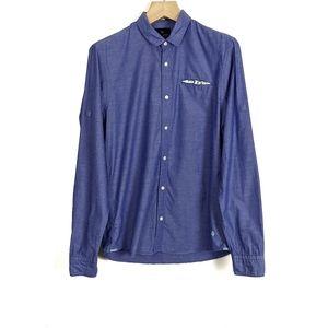 Scotch & Soda Palms Chambray Button Down Shirt